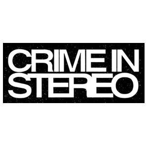 Crime In Stereo 'Logo' Sticker