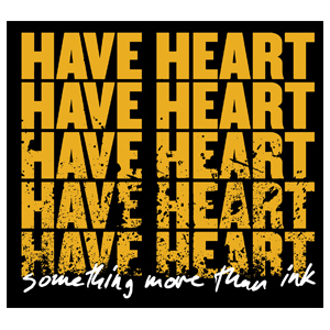 Have Heart 'Something More Than Ink' Sticker