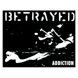 Betrayed 'Addiction' Sticker