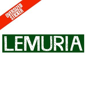 Lemuria 'Oversized Logo' Sticker