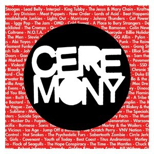 Ceremony 'Cover Songs EP' Sticker