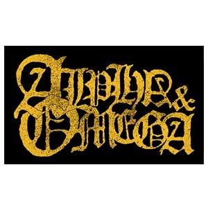 Alpha & Omega 'Yellow Logo' Sticker