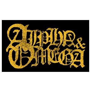 Alpha & Omega 'Yellow Logo' Sticker