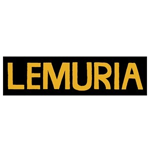 Lemuria 'Yellow Logo Bumper' Sticker