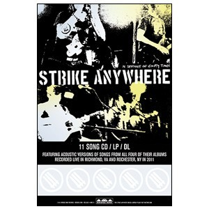 Strike Anywhere 'In Defiance of Empty Times' Poster