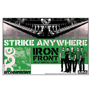 Strike Anywhere 'Iron Front' Poster