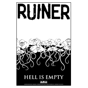 Ruiner 'Hell Is Empty Tour' Poster