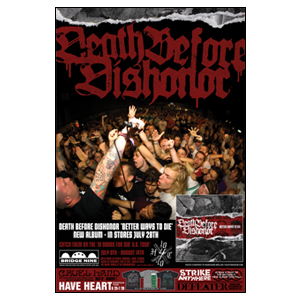 Bridge Nine 'Mail-order Poster - June 2009 Death Before Dishonor' Poster