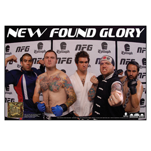 New Found Glory 'Ultimate Fighter - Listen To Your Friends' Poster