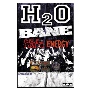 H2O 'Tour Poster'