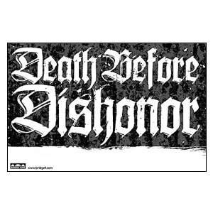 Death Before Dishonor 'Tour' Poster