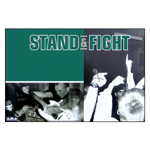 Stand & Fight 'Self-Titled' Poster