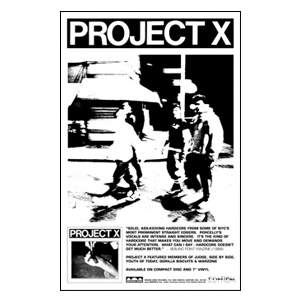 Project X 'Straight Edge Revenge' Poster