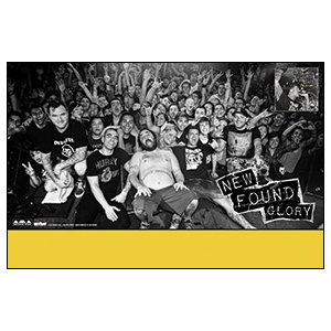 New Found Glory 'Kill It Live 2' Poster