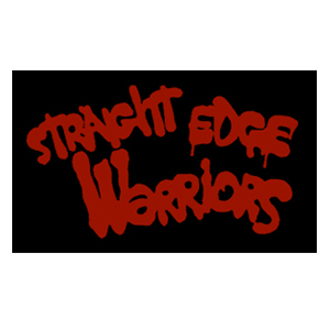 Straight Edge Warriors Sticker