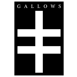 Gallows 'Cross' Sticker