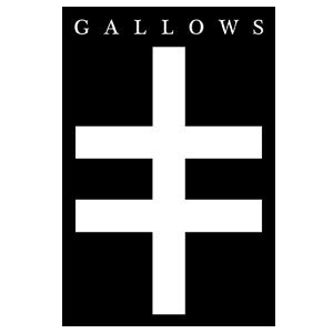 Gallows 'Cross' Sticker