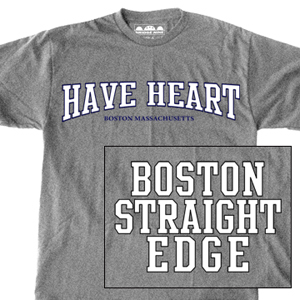 Have Heart 'Boston Straight Edge' T-Shirt