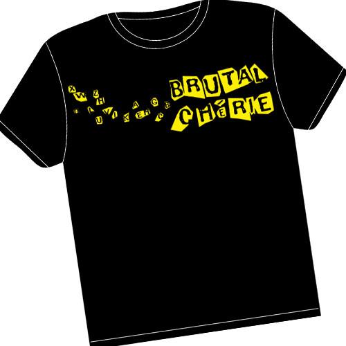 Brutal Cherie - TS logo jaune