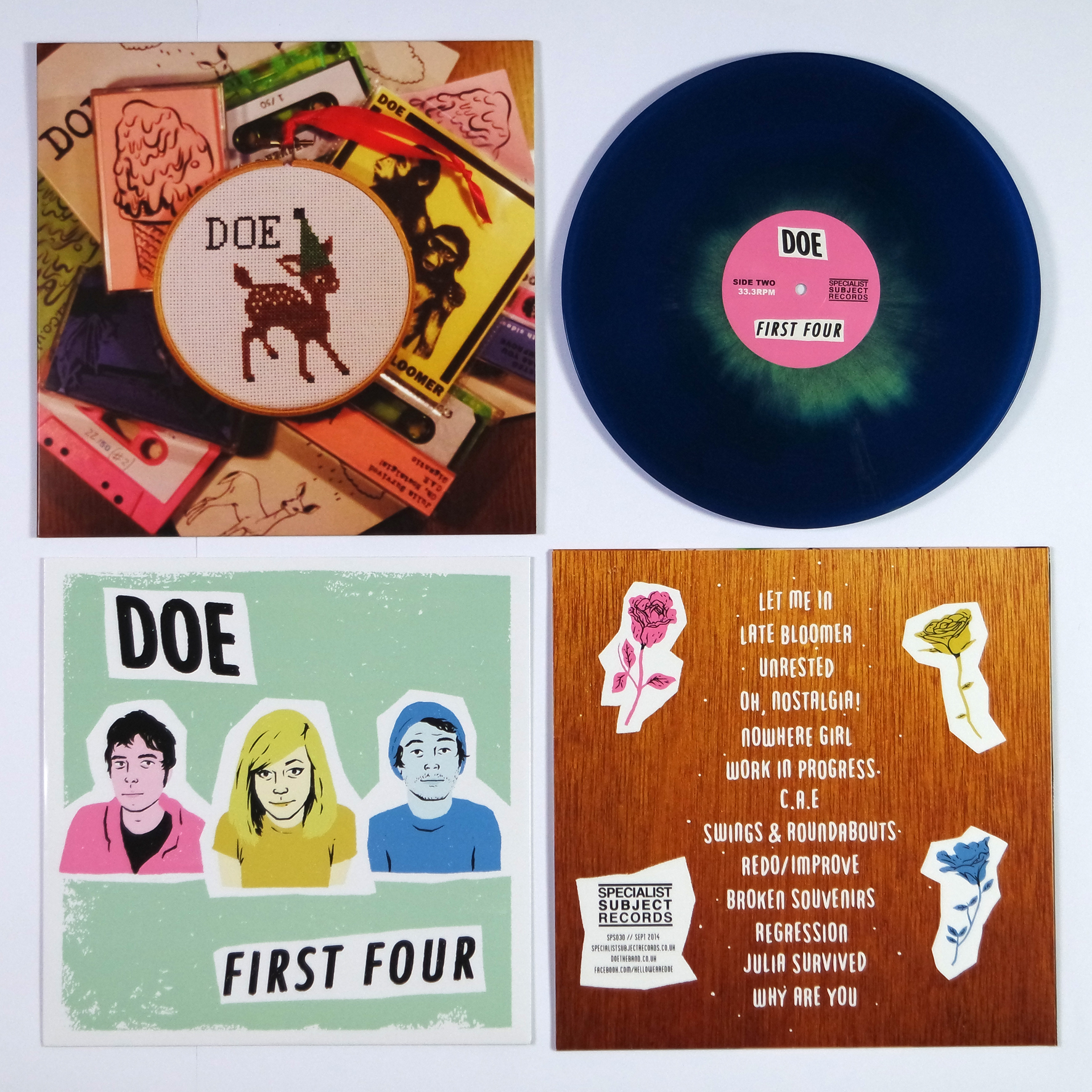 Doe - First Four LP