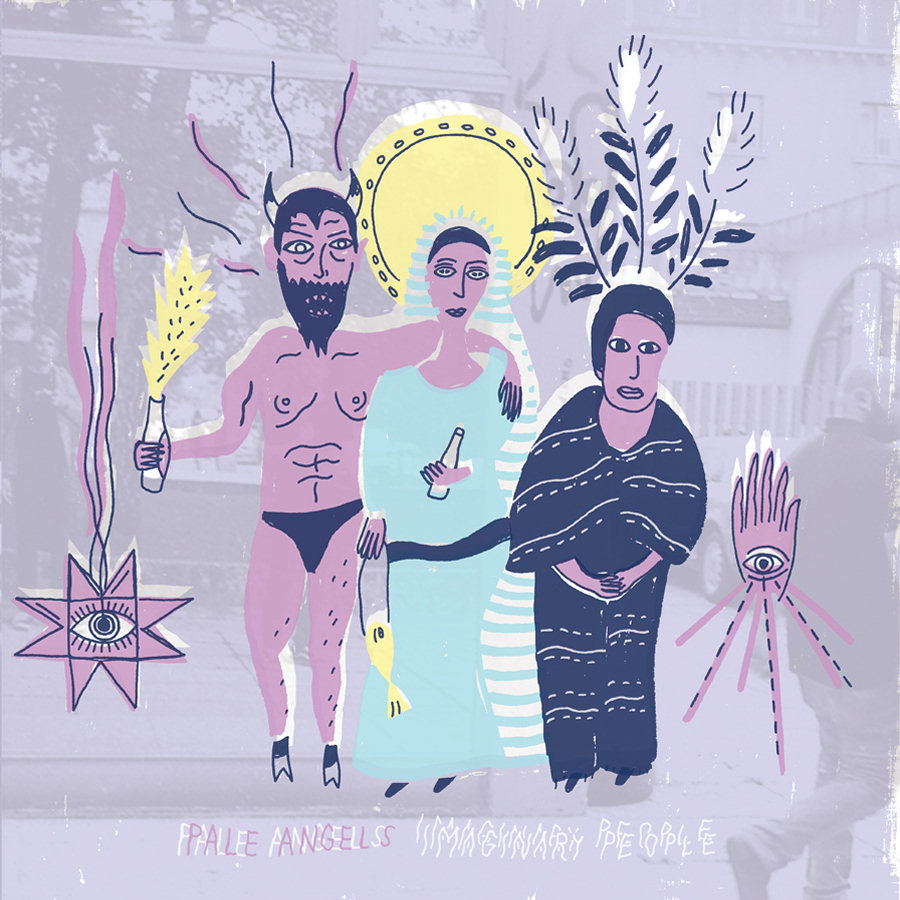 Pale Angels - Imaginary People LP / CD
