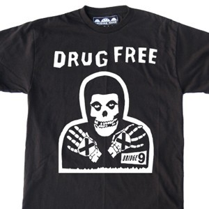 Bridge Nine 'Crimson Ghost Drug Free' T-Shirt