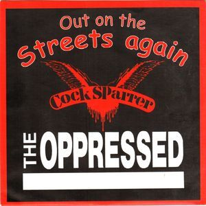 Cock Sparrer / The Oppressed - Out on the streets again 7