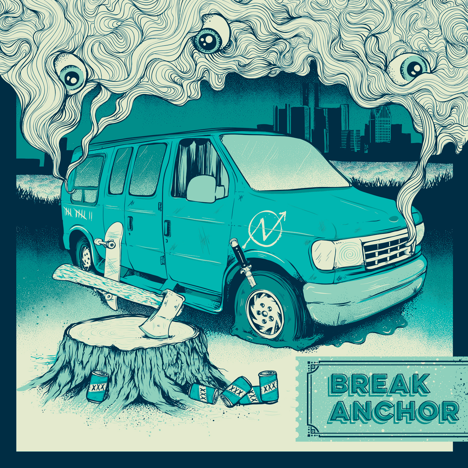 Break Anchor - In a Van Down By The River