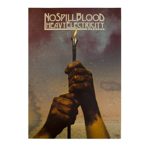 No Spill Blood - Heavy Electricity Poster