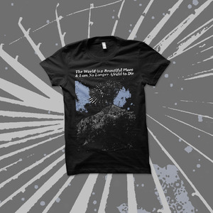 The World Is a Beautiful Place & I Am No Longer Afraid to Die - Spiral Space Shirt