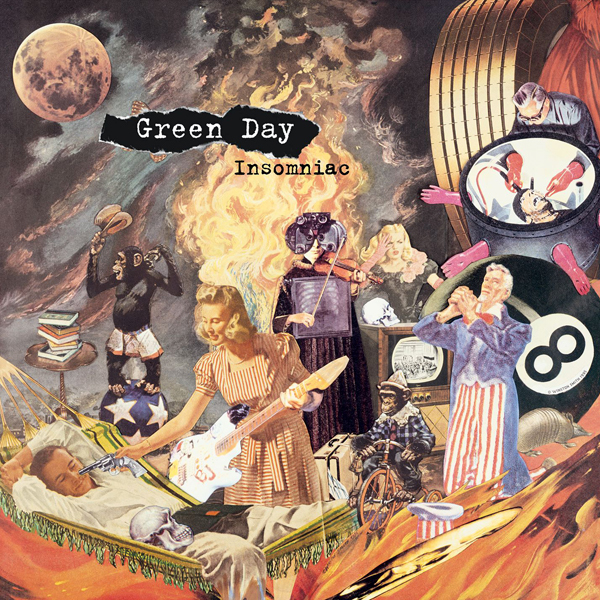 Green Day - Insomniac LP