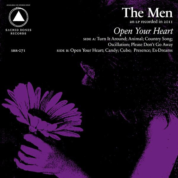Men - Open Your Heart LP *Markdown*