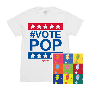 The Wit and Wisdom of Nigel Farage 7� &  #VOTEPOP Tee
