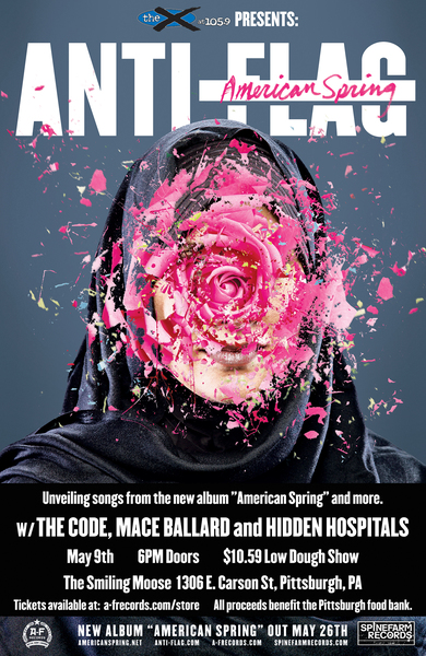 Anti-Flag @ The Smiling Moose - May 9th