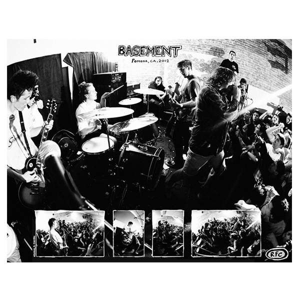 Basement - Live In Pomona Poster
