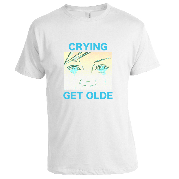 Crying - Get Olde Shirt (White)