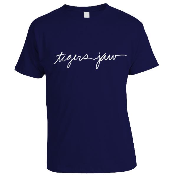 Tigers Jaw - Script Shirt