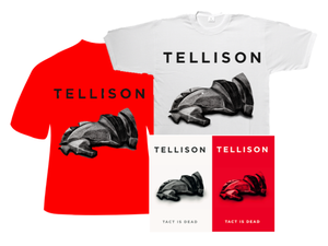 Tellison 'Tact is Dead EP' and T-Shirt Bundle