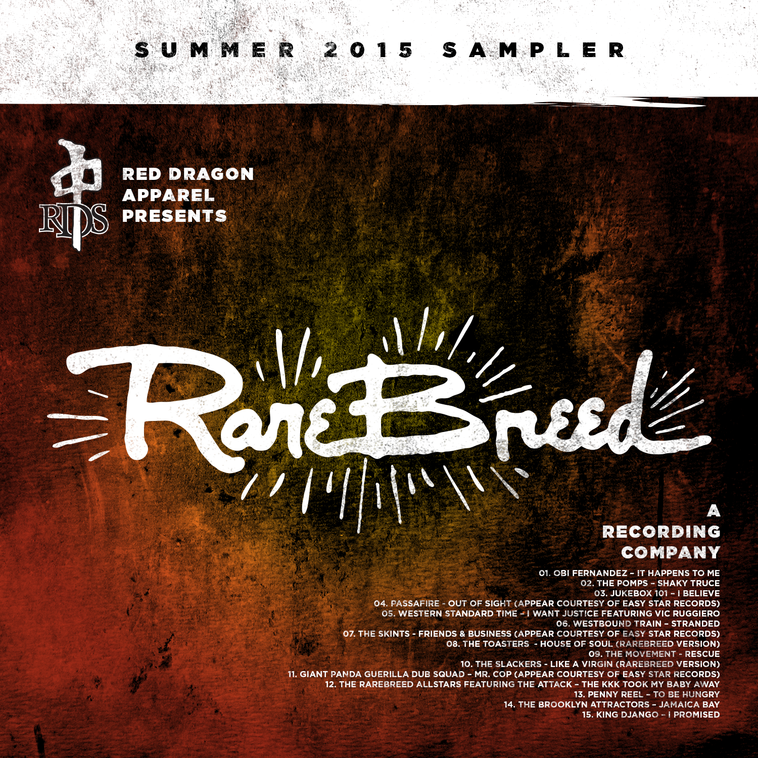 RARE BREED Summer Sampler