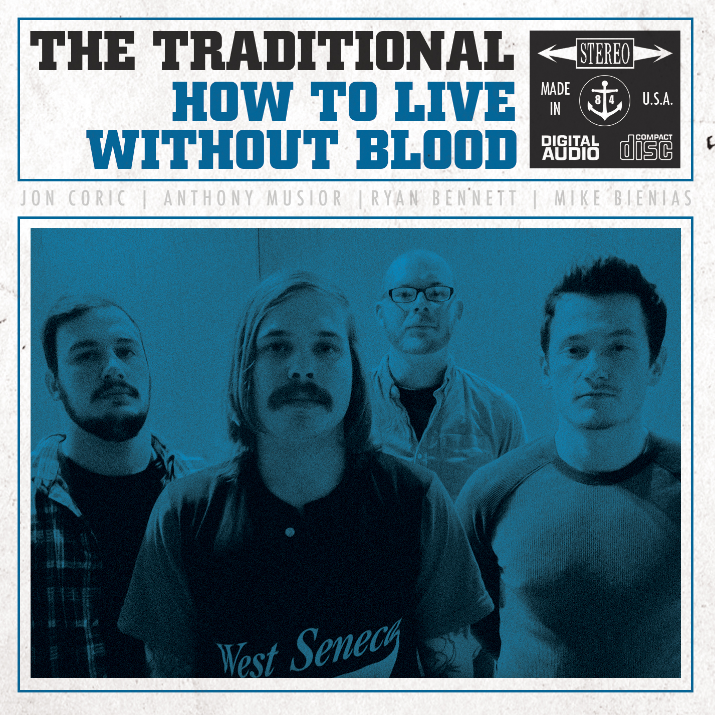 The Traditional - How To Live Without Blood (Vinyl & CD)