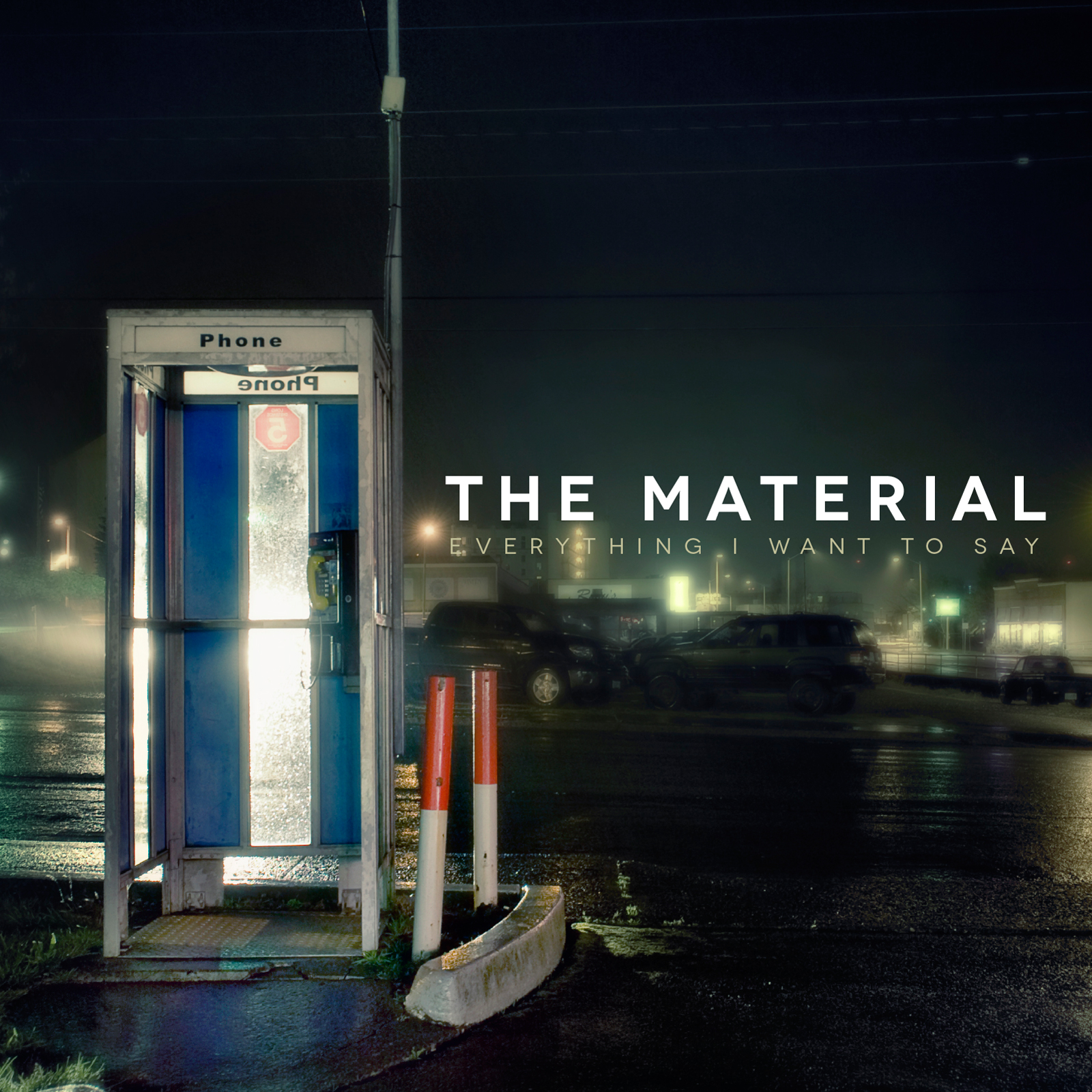 SALE!!!  The Material - Everything I Want To Say (LP)