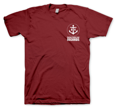 Anchor Eighty Four - Logo Tee (burgandy)