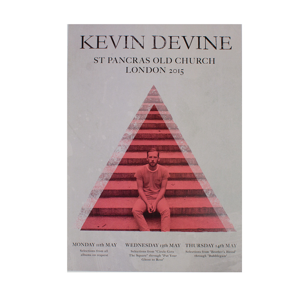 Kevin Devine - St Pancras Old Church Poster