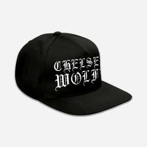 Chelsea Wolfe - Classic Logo Embroidered Snapback