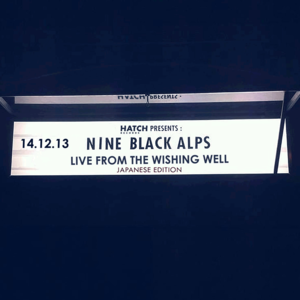 Nine Black Alps - Live From The Wishing Well - Japanese CD - SALE