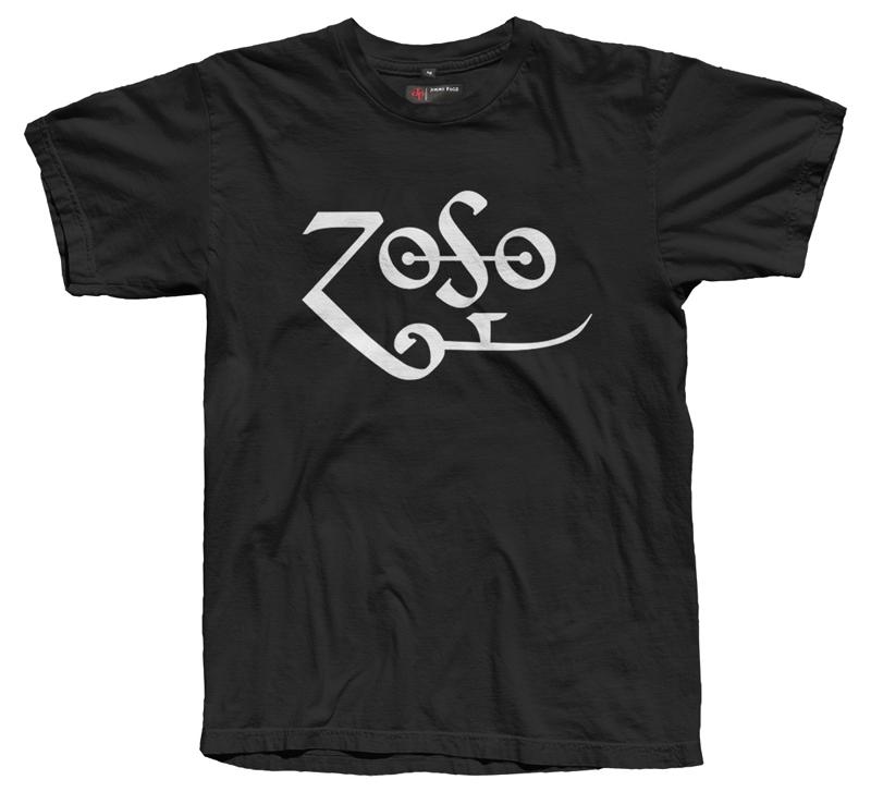 Classic Zoso T-Shirt (Black)