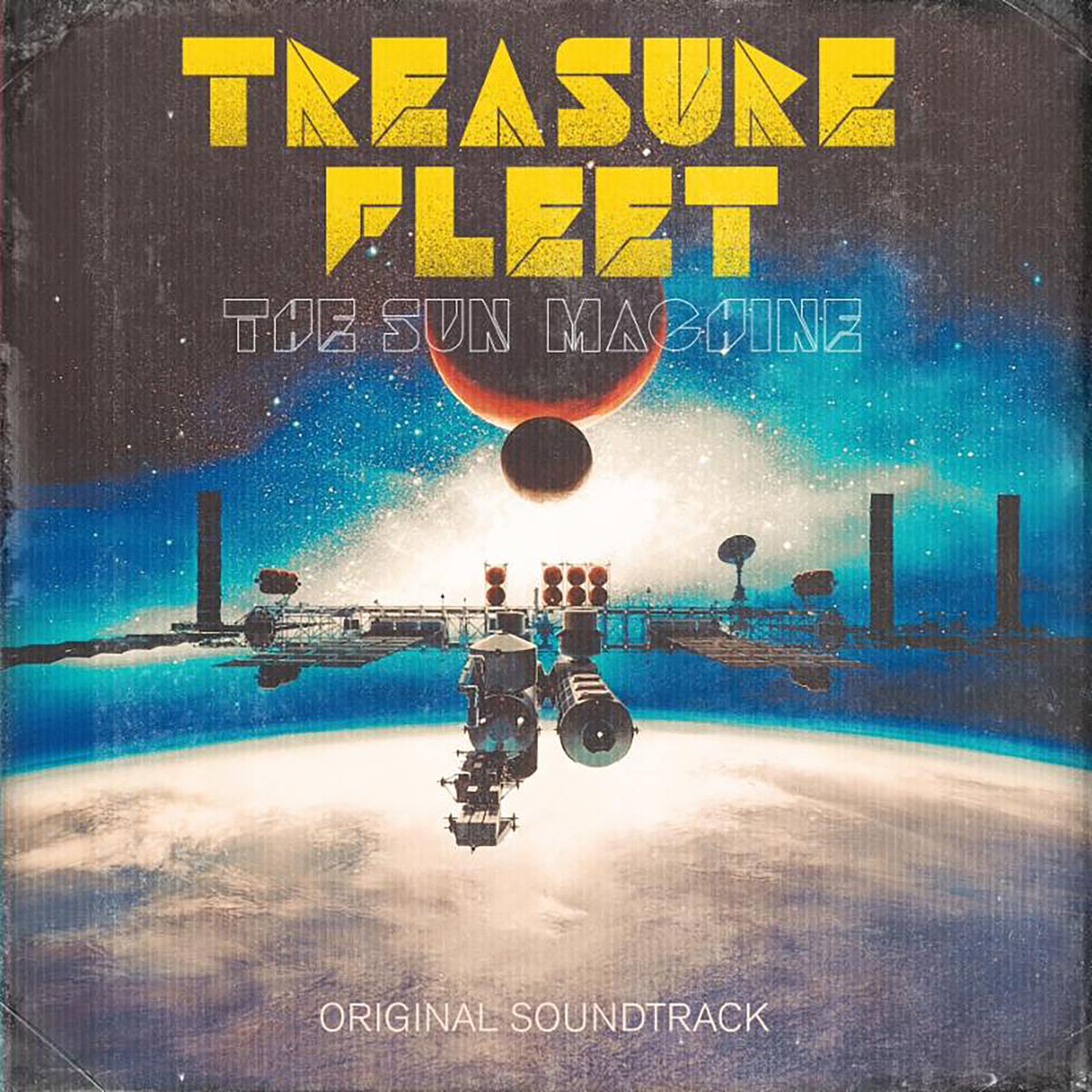 Treasure Fleet - The Sun Machine LP
