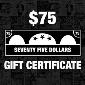 Bridge Nine $75 Gift Certificate
