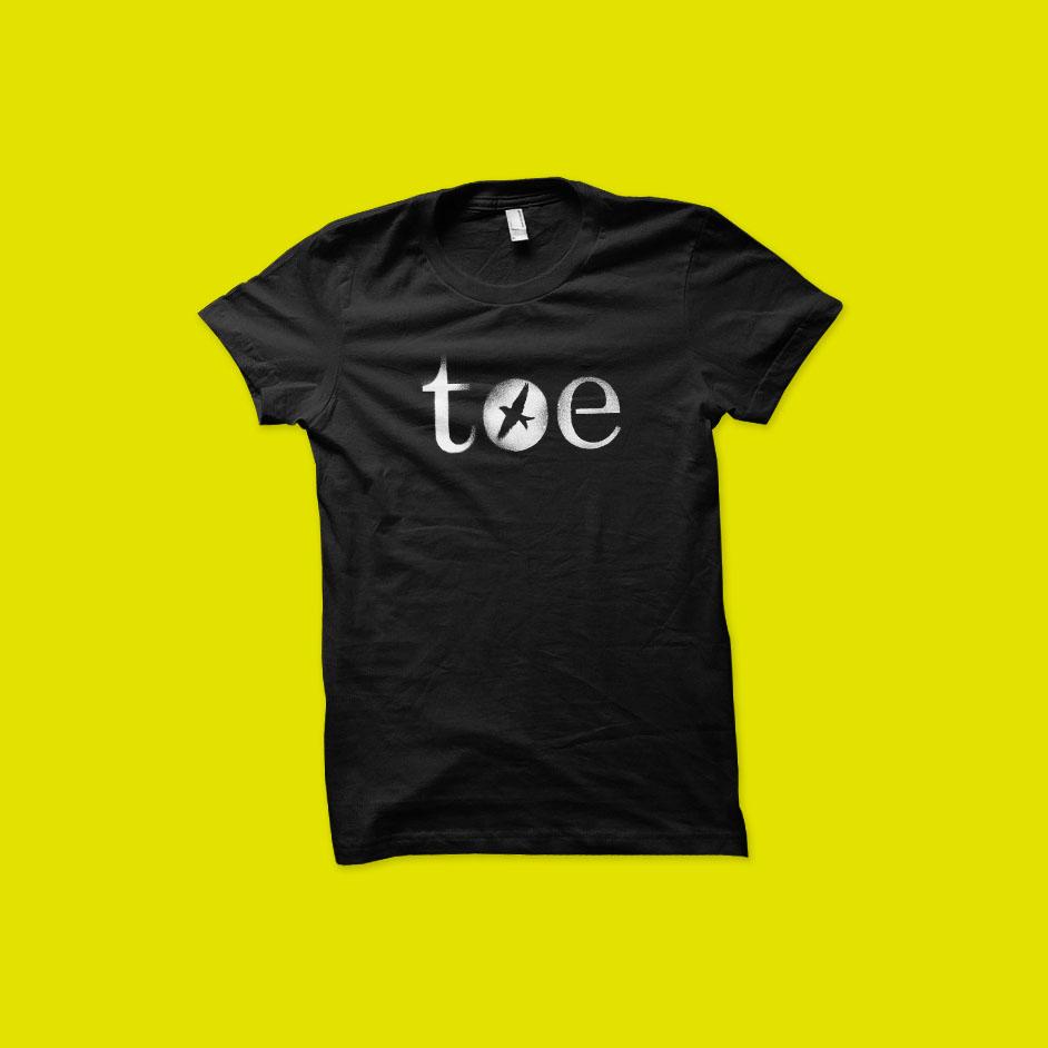 6f4178f0c02 Topshelf Records UK - toe - Bird T-Shirt