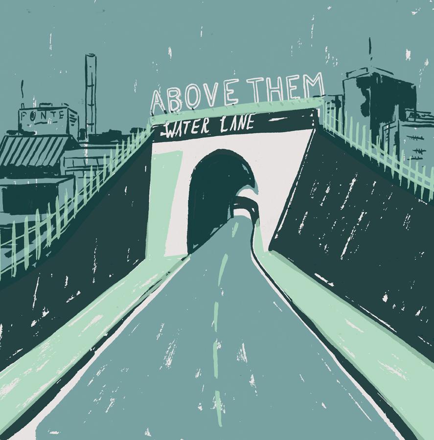 Above Them - Water Lane LP